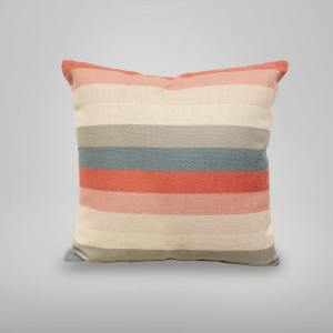 Cushion – Stripes Pink/Grey